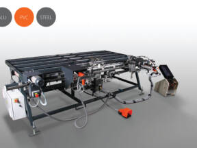 elumatec AG FAZ 2800 montažni centar za okivanje prozorskih krila