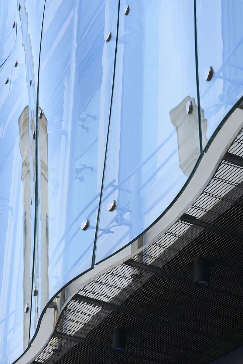 PRESS GLASS, 3D GLASS staklo za fasadu