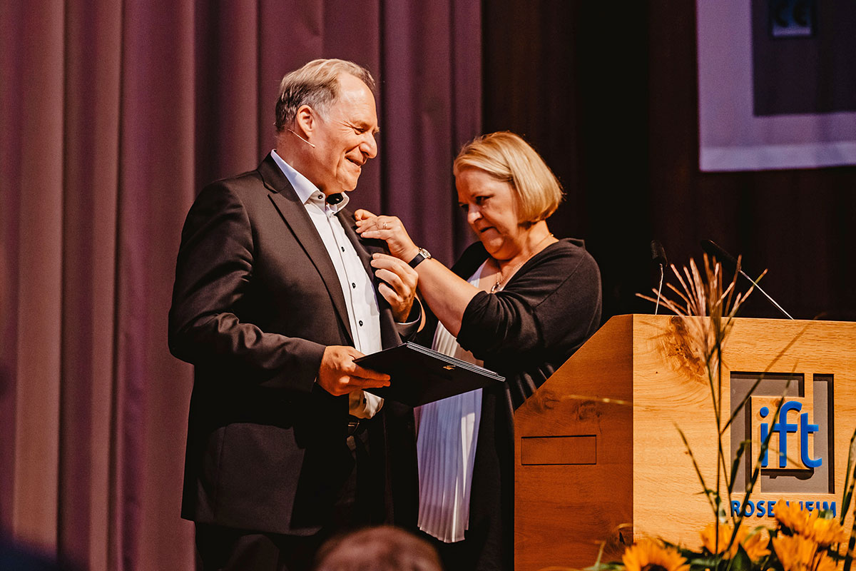 Foto: Prof. Ulrich Sieberath i Astrid Wirges