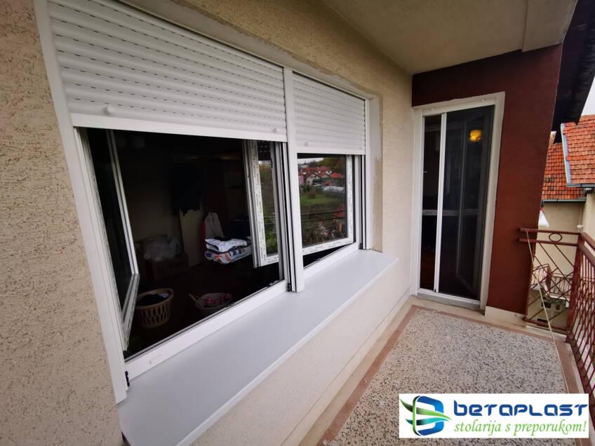 Kvalitetna PVC stolarija ugradnja prozora i vrata Betaplast