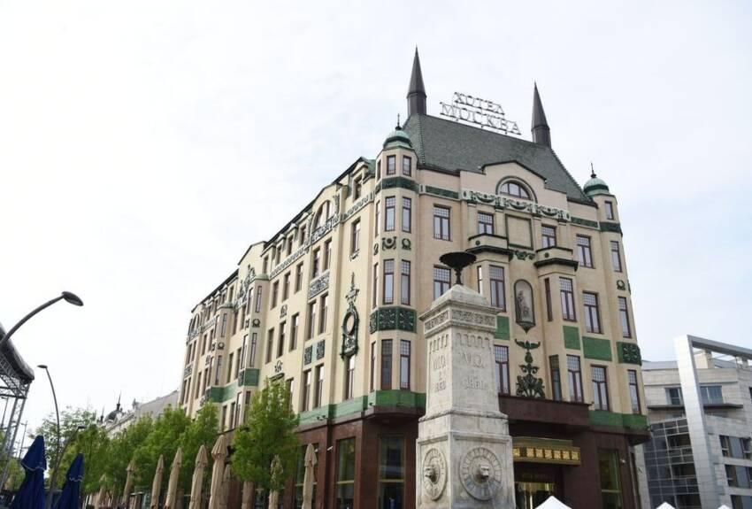 ALUMIL aluminijumski sistemi, rekonstrukcija Hotel Moskva u Beogradu