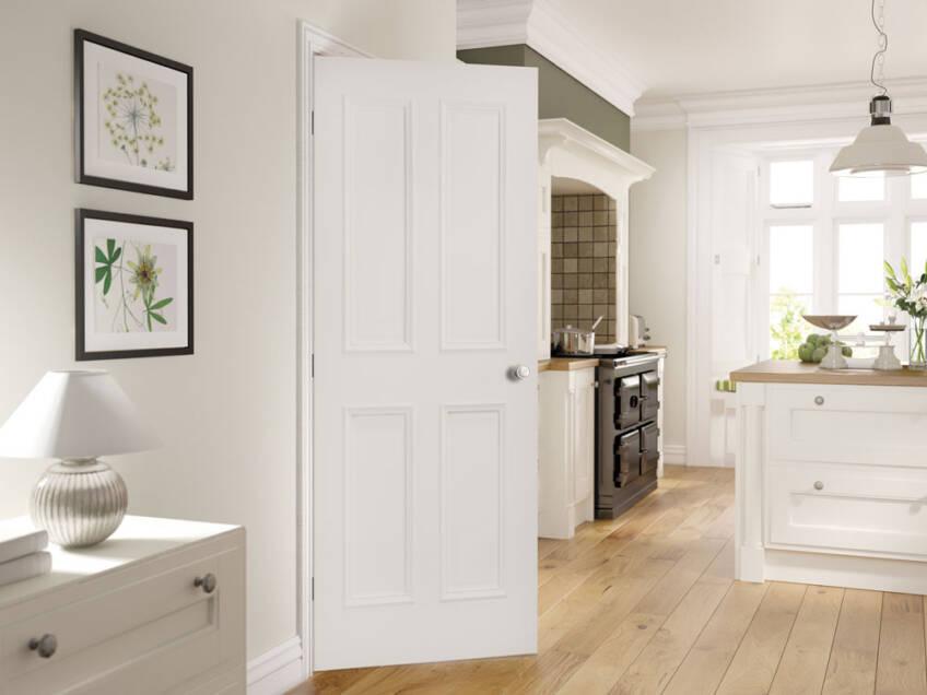 Drvena sobna vrata za kuhinju