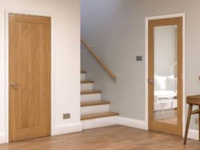 Drvena ulazna vrata - Hrast