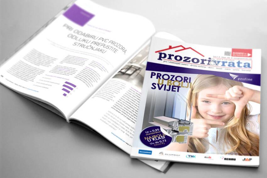 Časopis PROZORI&VRATA broj 17, ožujak 2020