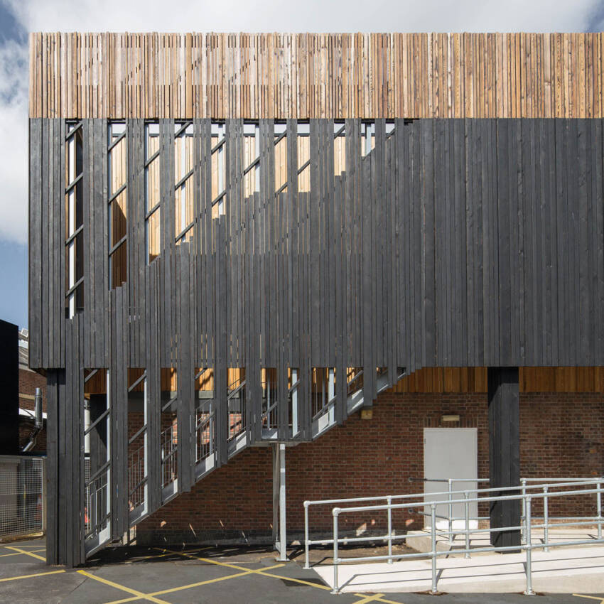 Moderna drvena ventilirajuća fasada
