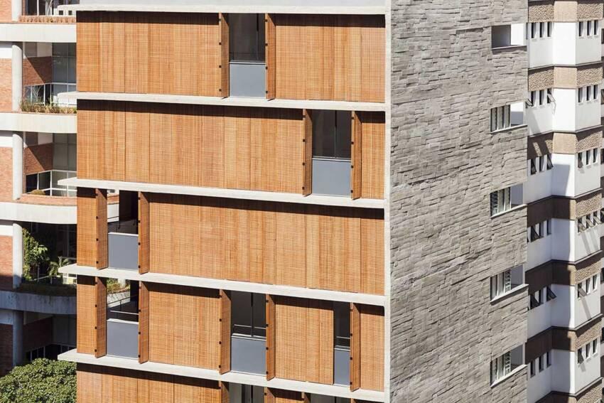 Drveni brisoleji na fasadi