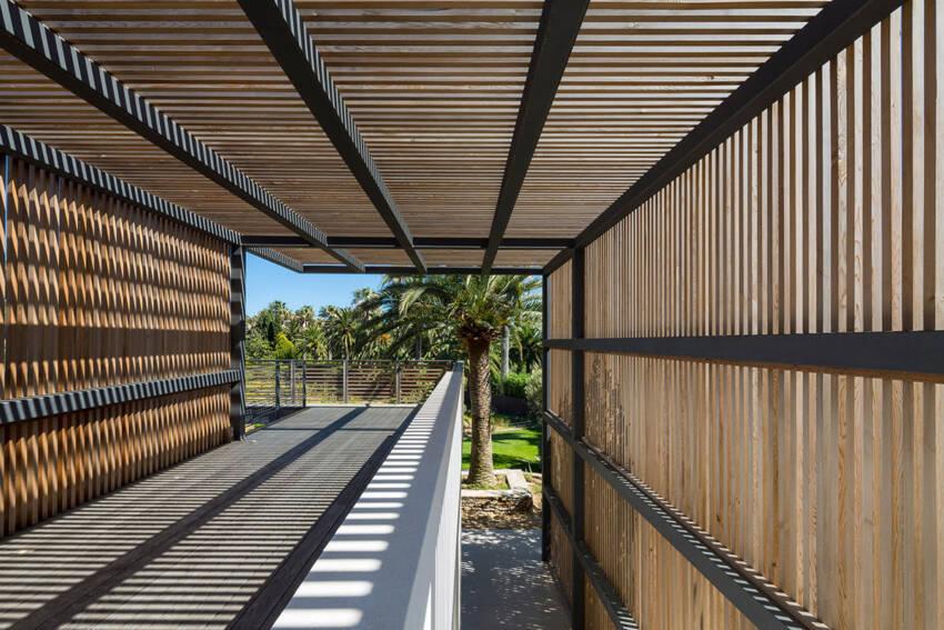 Drvena pergola - zaštita od sunca