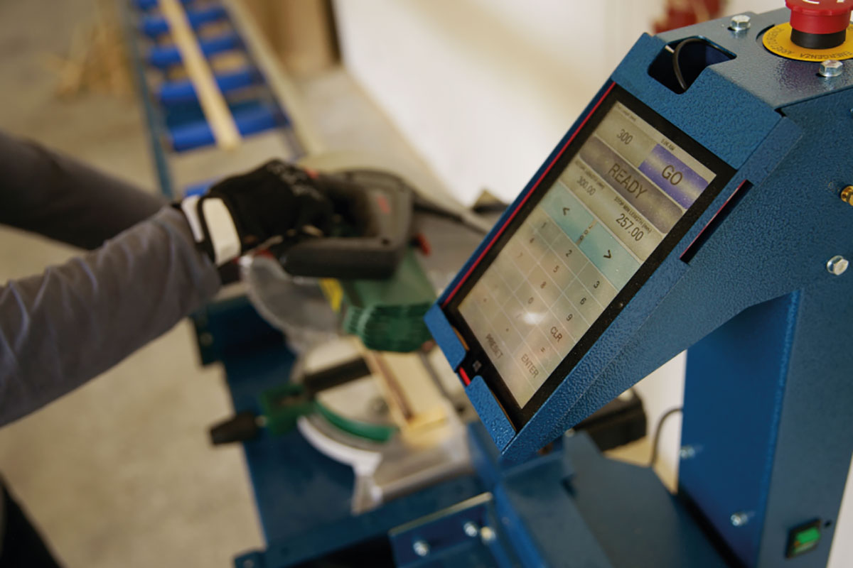 ProfiStop Lazer za precizno automatsko merenje profila