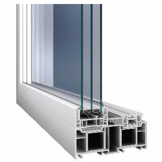 Zahvaljujući širini od samo 45 mm uski okvir omogućuje da u prostoriju uđe otprilike 10 % više prirodnog svjetla.