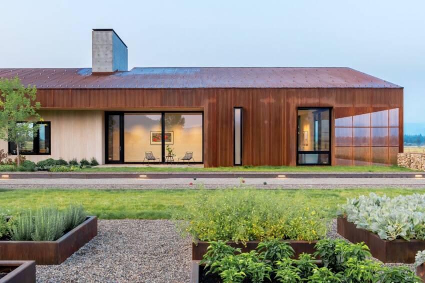 Kuća sa asimetričnim krovom