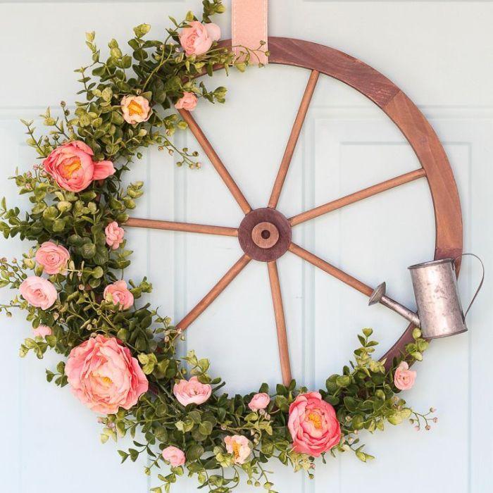 venac od cveća za ulazna vrata