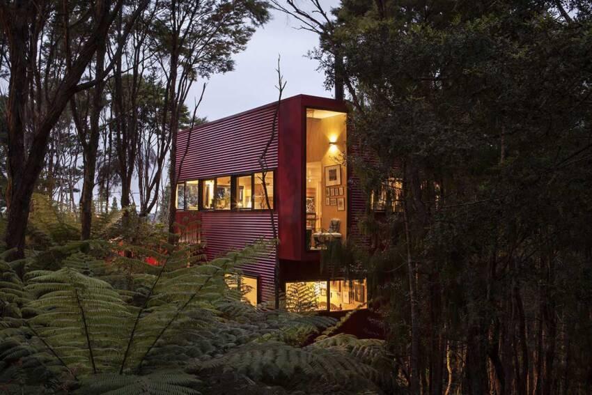 Fasadna obloga za kuću u prirodi - Crosson Architects