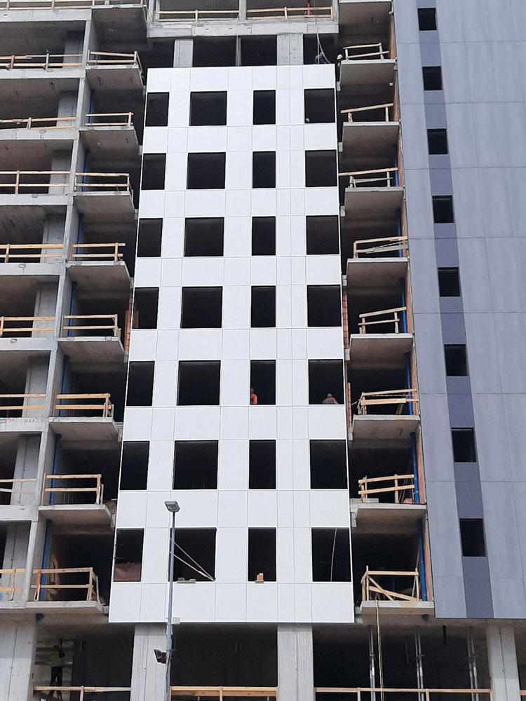Struktura58 / Sakura Park u izgradnji