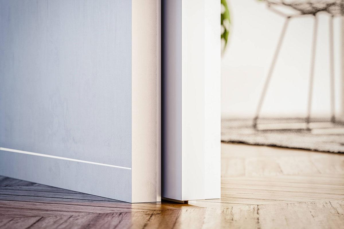 klizna vrata koja u potpunosti uklizavaju u zid