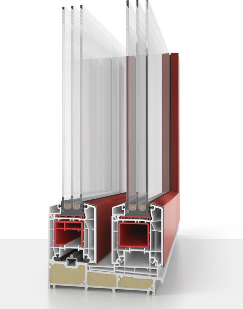 Podizno-klizna vrata 85 mm