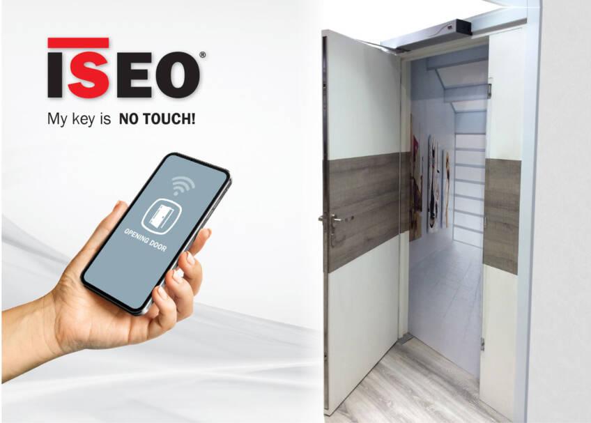 ISEO predstavlja svoja rešenja za otvaranje i kontrolu pristupa NO TOUCH