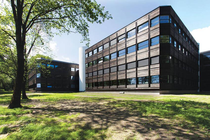 """Prvi objekat realizovan od strane """"Powerhouse"""" udruženja, bila je poslovna zgrada Kjørbo"""