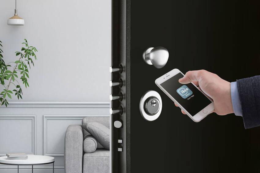 foto: ISEO / Argo App na pametnom telefonu otključava vrata