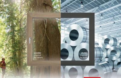 ALUPLAST / woodec & aludec - Novi izgled prozora