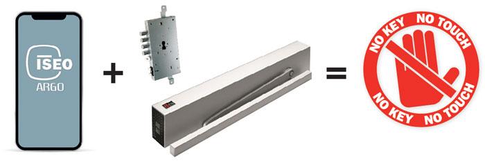 Upravljanje pristupom uz kombinaciju IS9100 i x1R SMART by ISEO