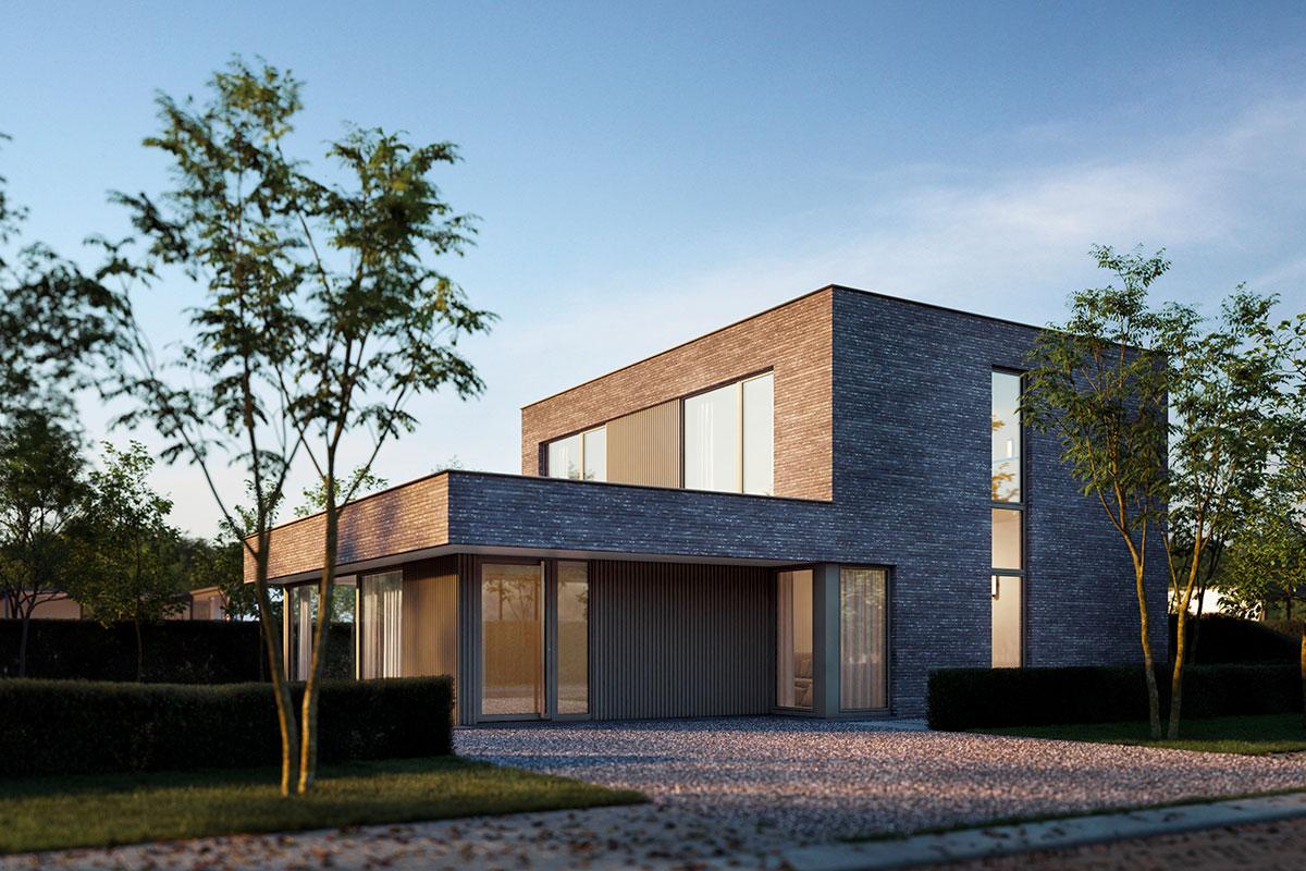 foto: DECEUNINCK / PVC stolarija - Elegant A 76X Concrete gray