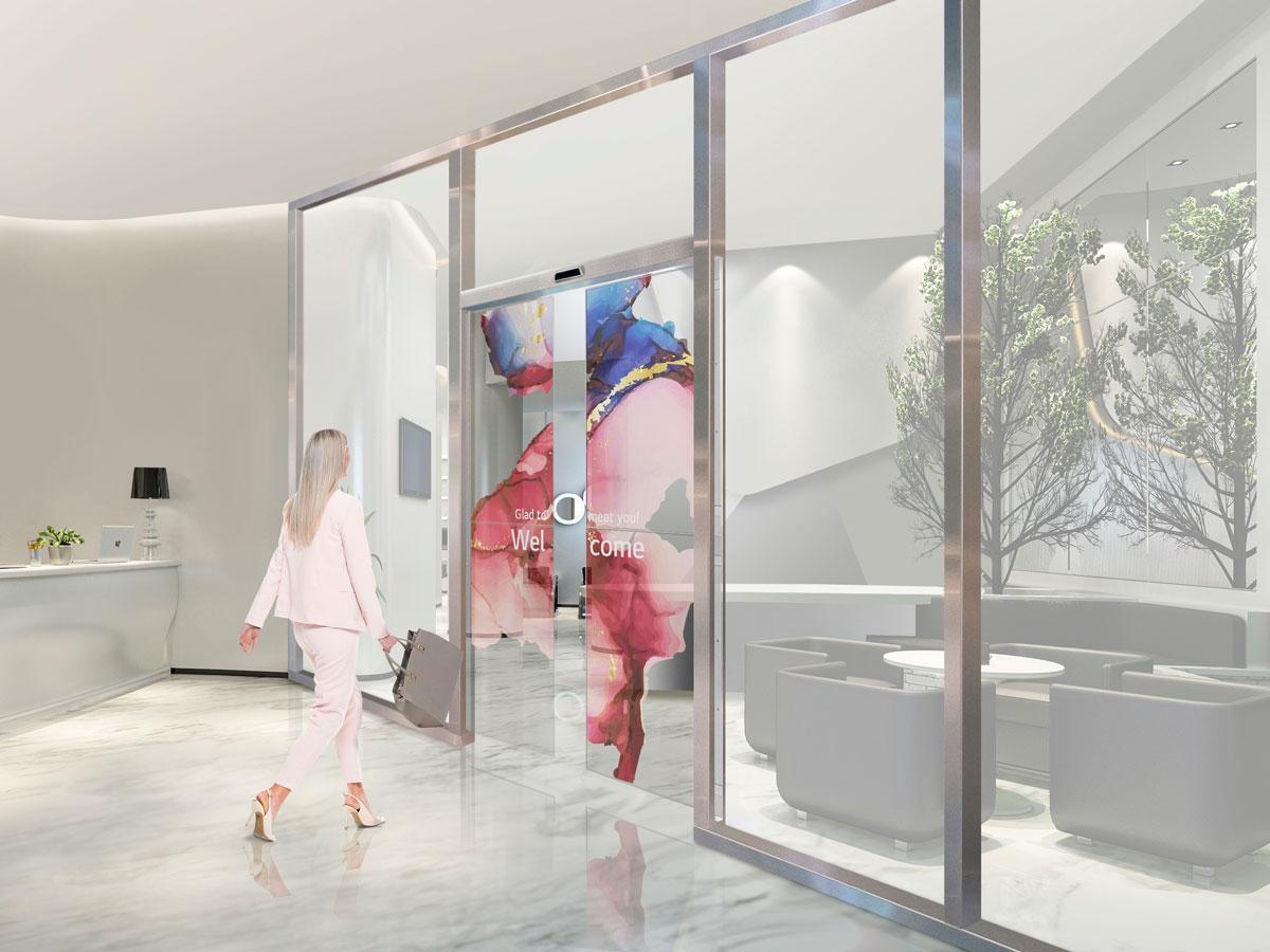 Kompanije LG i ASSA ABLOY će razviti transparentna OLED klizna vrata