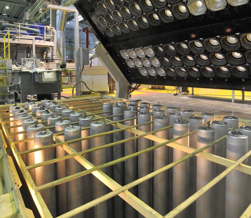 ekstruzija aluminijuma