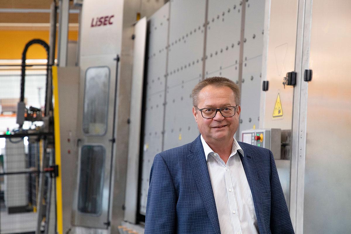 Ing. Mag. Werner Krügl, šef odeljenja za staklo u C.Bergmann-u