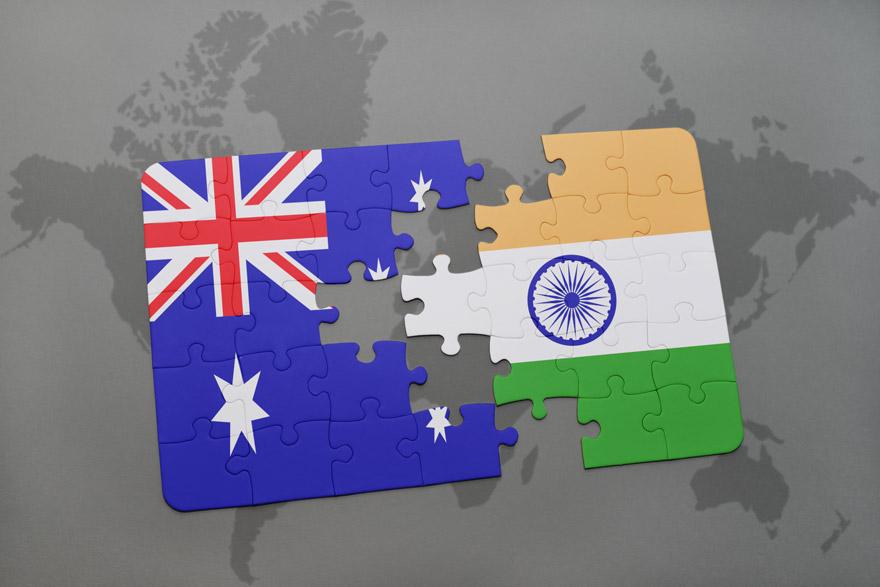 indija australija