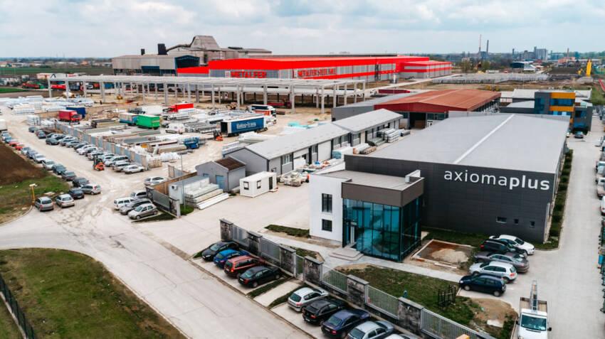 Uvećavanjem palete proizvoda Axioma plus je širila mrežu partnera