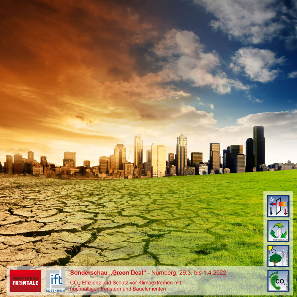 Green Deal na Fensterbau Frontale 2022