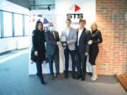 PKS Nagradu je u ime Testeral kompanije primila gospođa Sanja Stanimirović