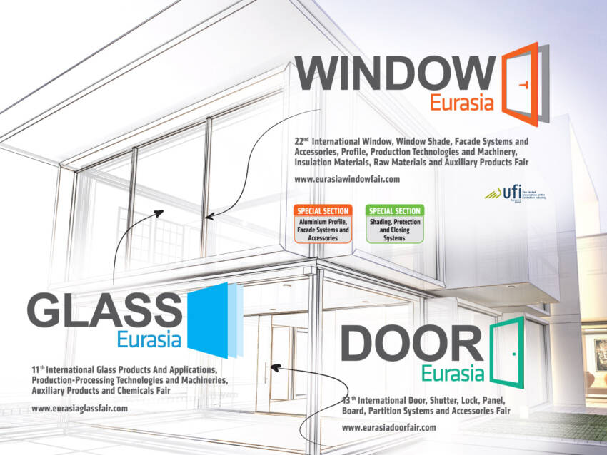 Pozivamo Vas na Internacionalne Euroasia Sajmove prozora, vrata i stakla - Istanbul